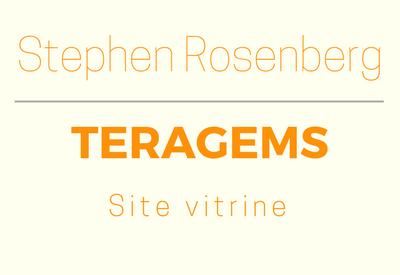 Site vitrine Teragems réalisé pour Stephen Rosenberg, Gemmologue